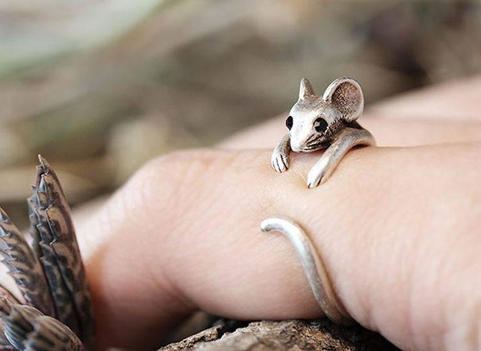 Интересные кольца с необычным дизайном