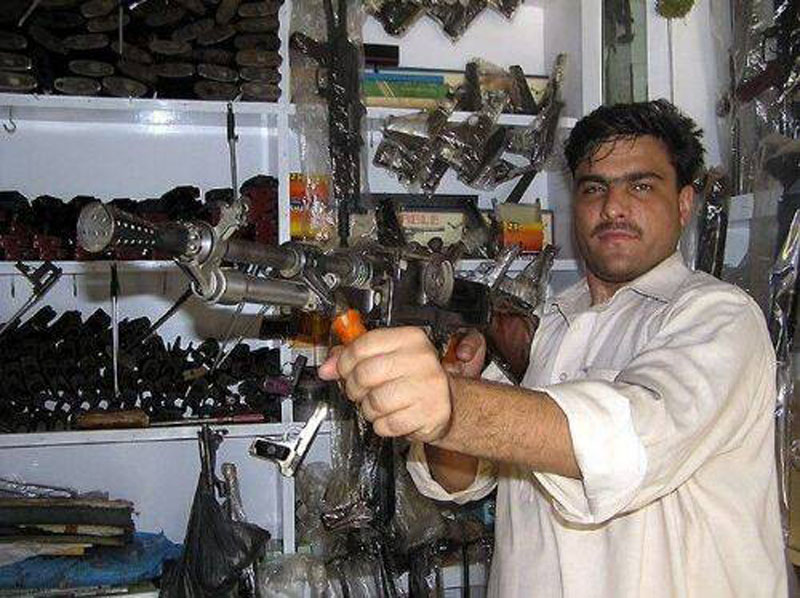 Как в Афганистане делают оружие