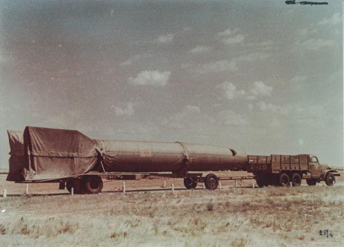Рассекреченные фотографии, сделанные на заре советской космонавтики