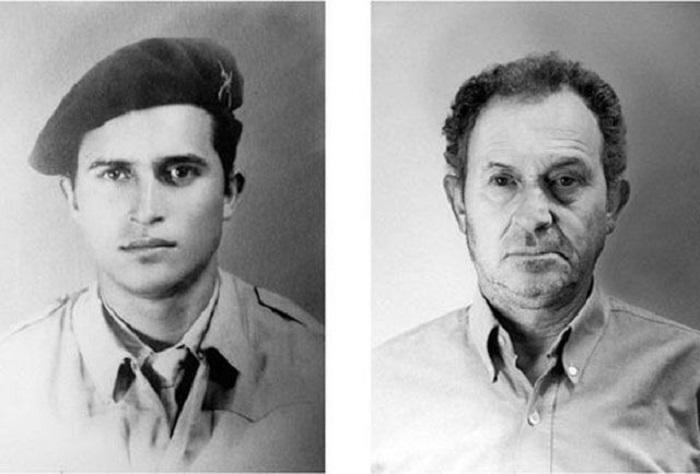 16 портретов людей в юности и в зрелом возрасте