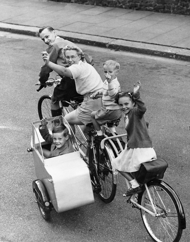 24 ретро фотографии о странных велосипедах