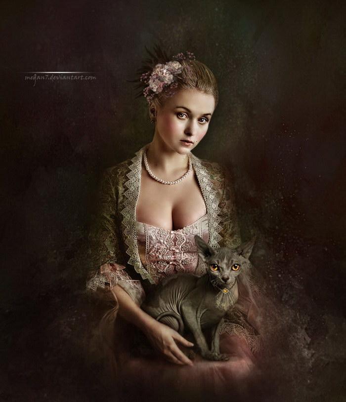Интересные фото-коллажи от Margarete