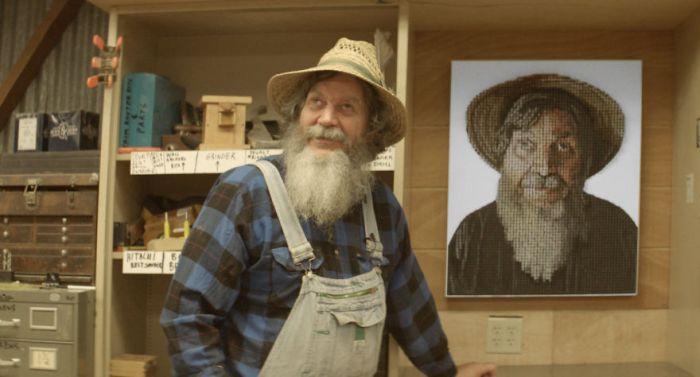 3D-портрет слепого мужчины помог ему рассмотреть самого себя