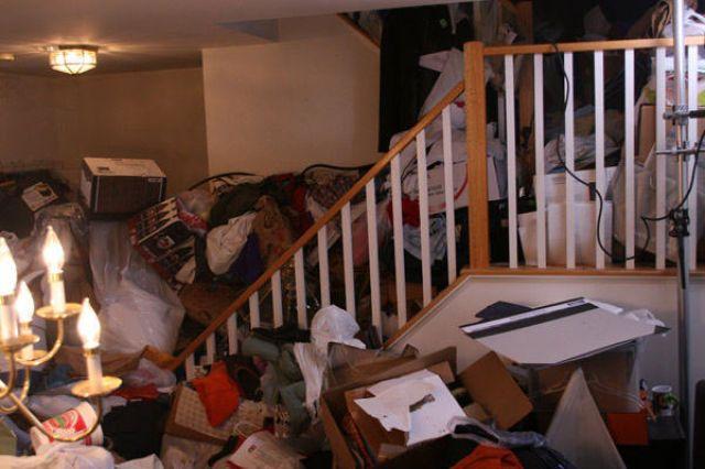 Когда дома устроили бардак