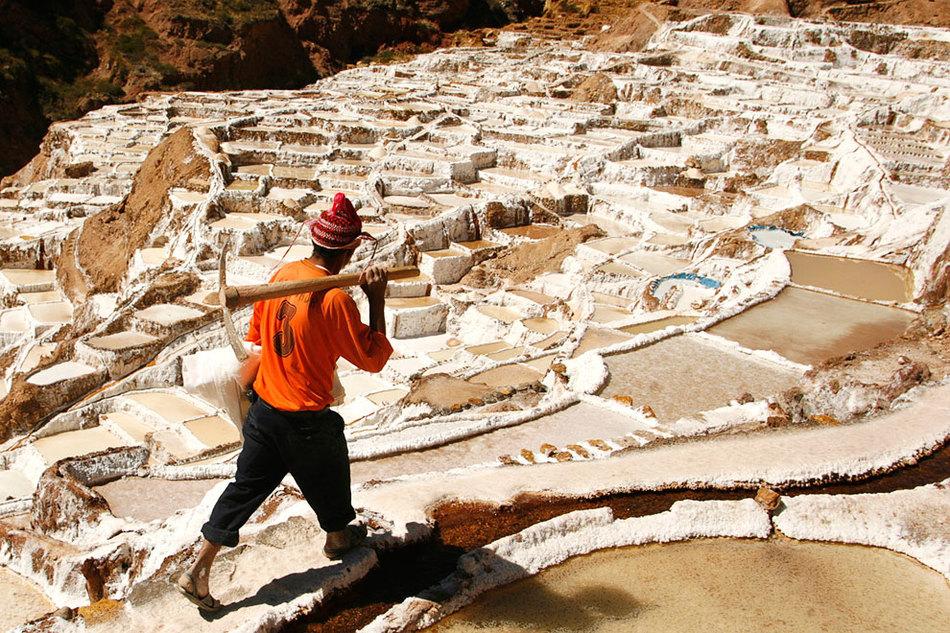 Многообразная красота соляных шахт