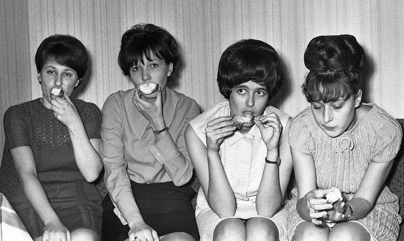 Советская студенческая вечеринка 1967 года