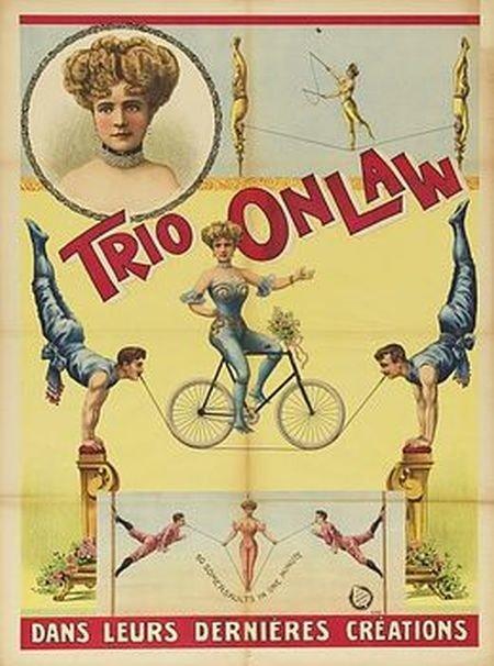 Старые цирковые плакаты 1880 – 1930 гг.