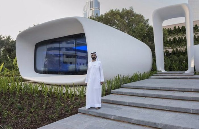 В Дубае появился первый офис, напечатанный на 3D-принтере