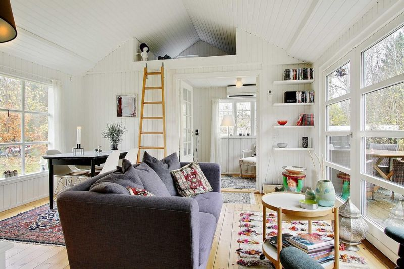 Классическая уютная дача в Дании