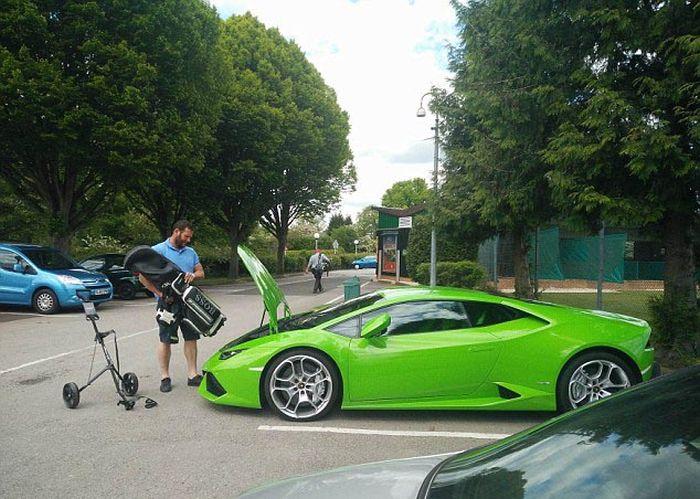 Непрактичный суперкар Lamborghini Huracan
