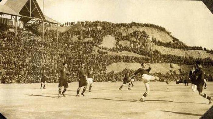 Старые футбольные фотографии