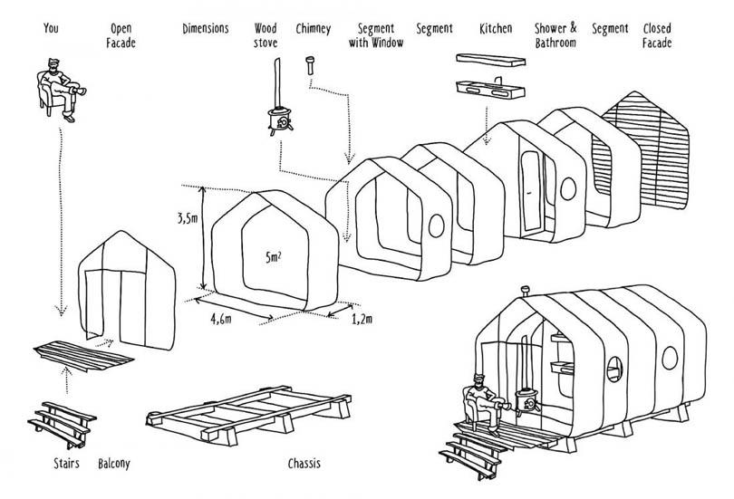 Дом из картона, который простоит 50 лет