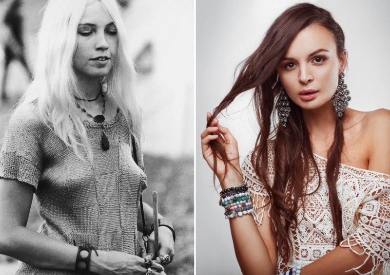 Фотографии с фестиваля Вудсток 1969 года позволяют увидеть истоки современной моды