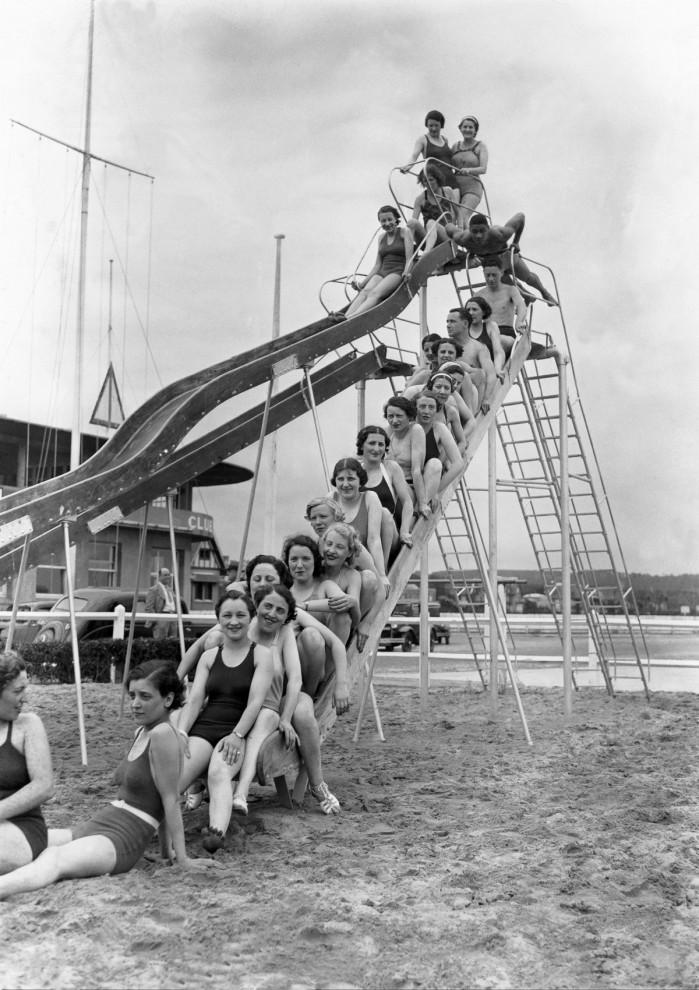 Французская элита на пляжах Довиля в 1900-1938 годы