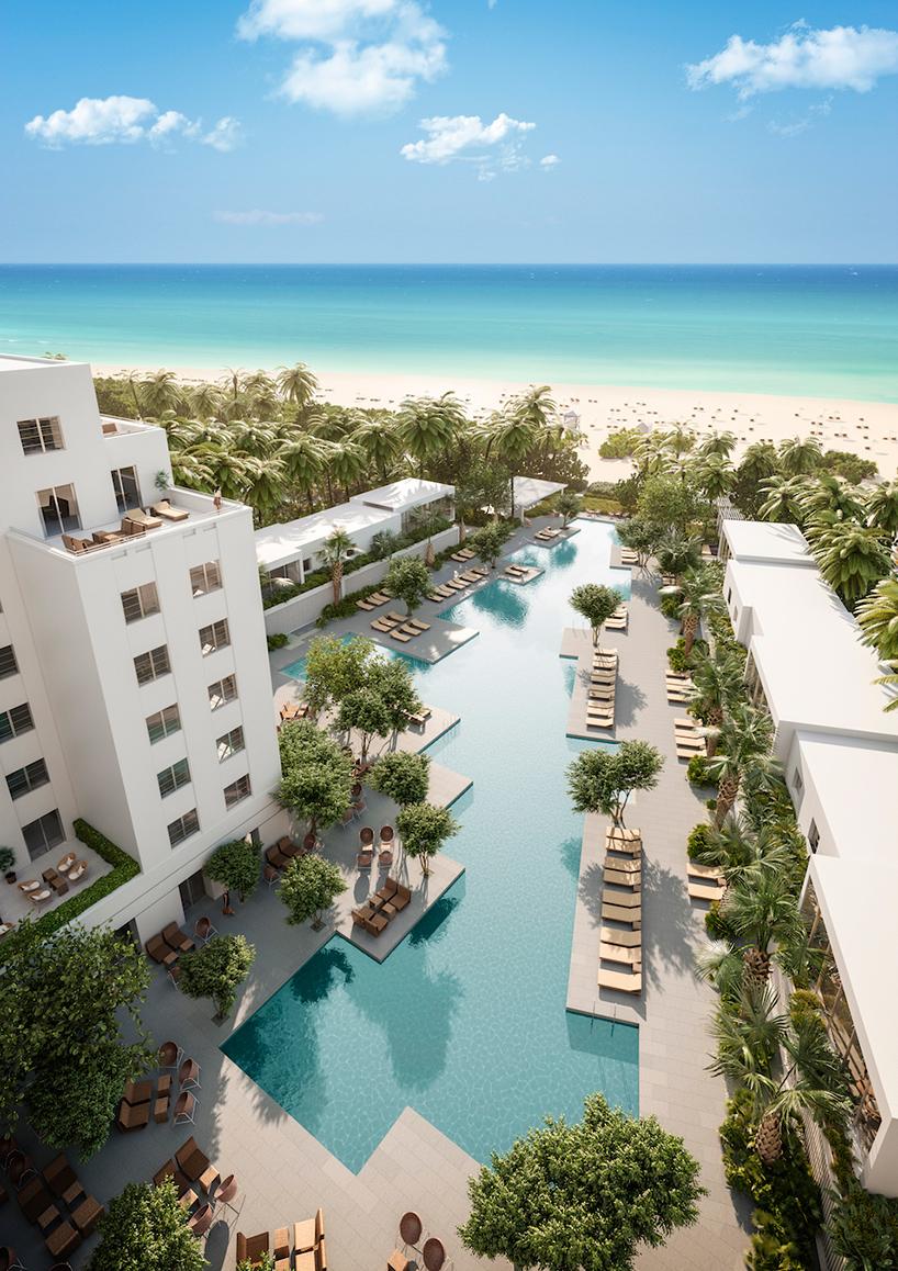 Проект отеля Shore Club в Майами
