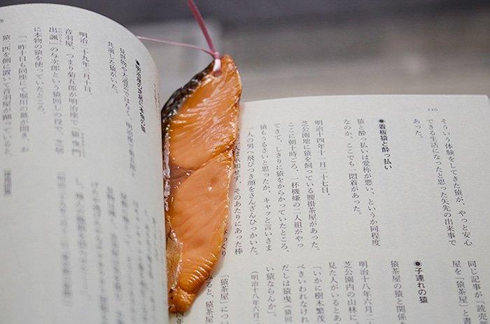 Аппетитные закладки для книг