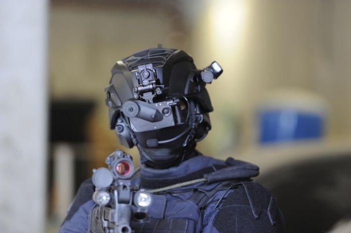 Современные солдаты, которые выглядят словно пришельцы из будущего