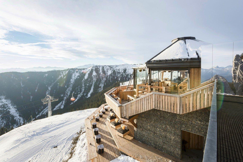 Уютный горный ресторан Hendl Fischerei