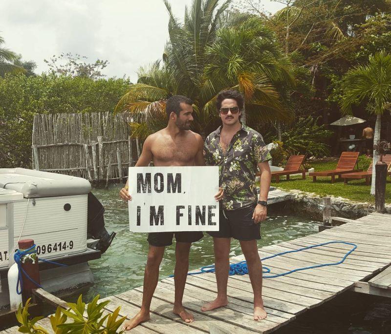 Безработный путешественник регулярно сообщает маме, что с ним все нормально