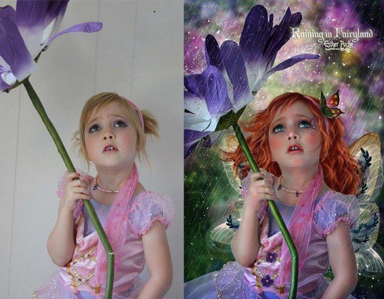 Фотографии до и после обработки от мастеров фотошопа