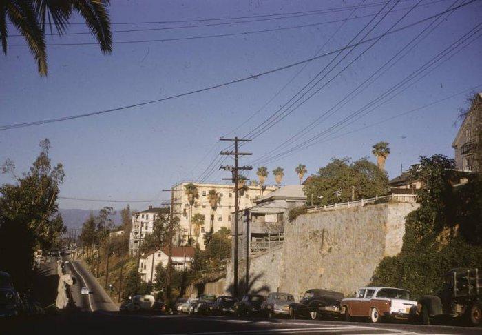 Лос-Анджелес в середине прошлого столетия
