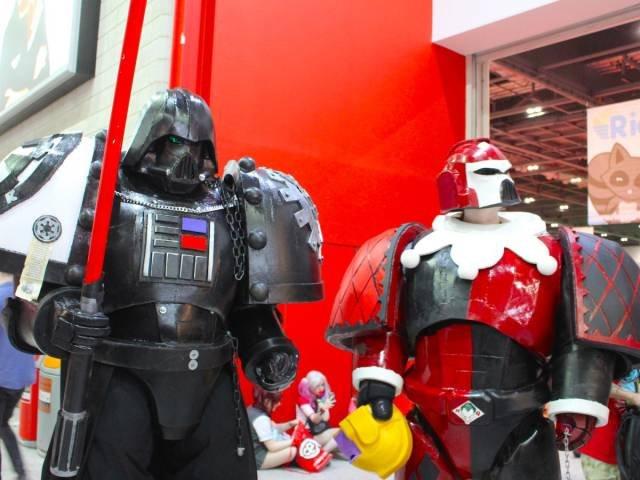 Яркий косплей на London Comic Con 2016