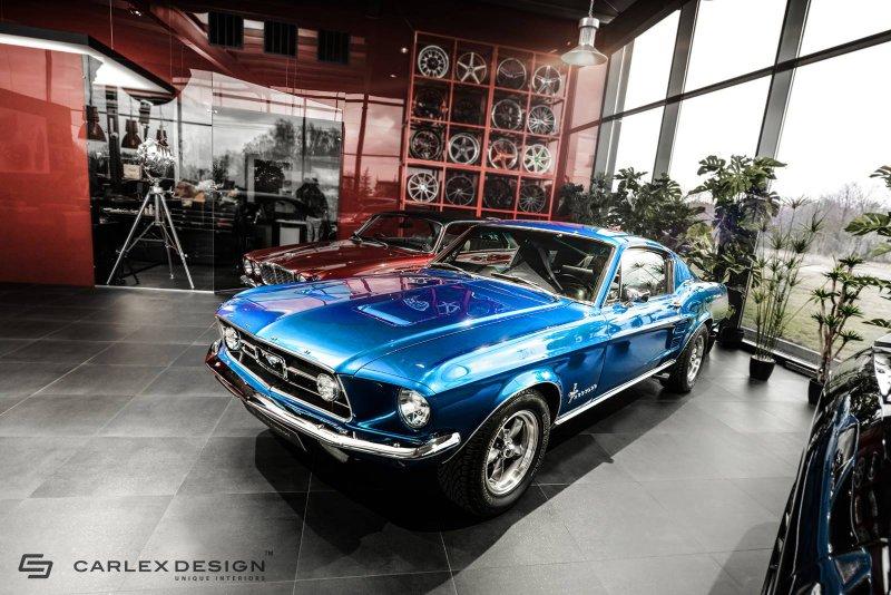Классический Ford Mustang от Carlex Design