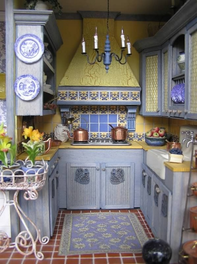 Отличные идеи для маленькой кухни