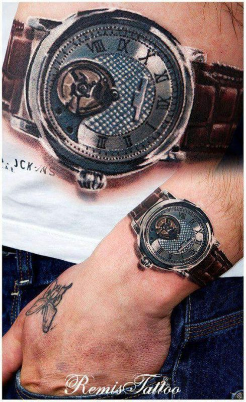 Татуировки в 3D-формате