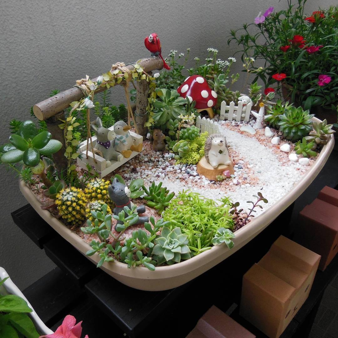 18 интересных идей, чтобы устроить сад прямо у себя дома