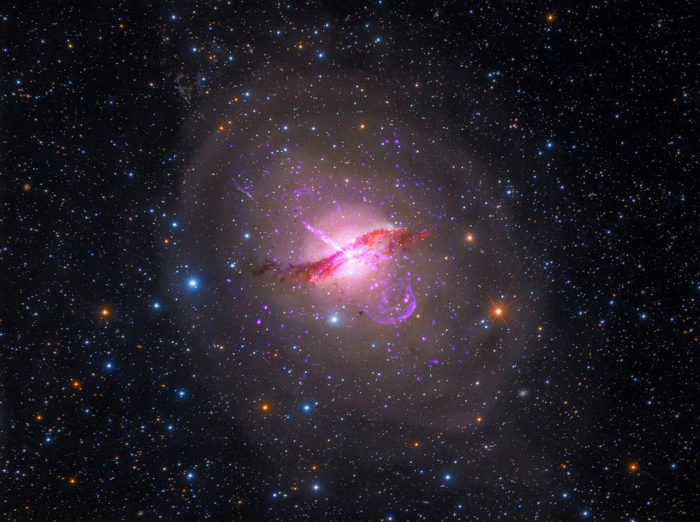 Далекие галактики