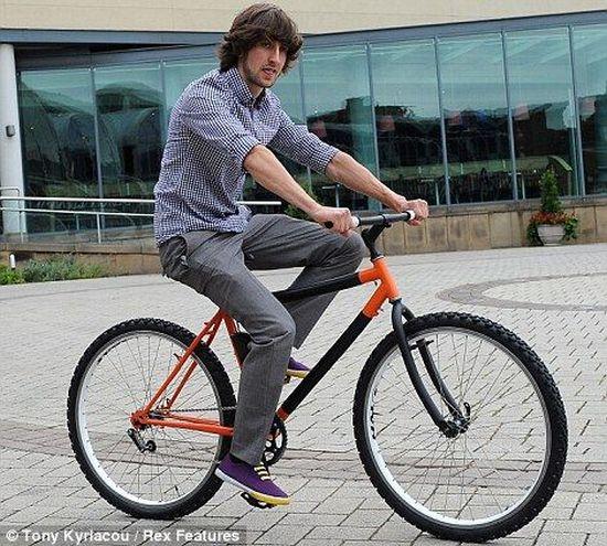 Неугоняемый велосипед