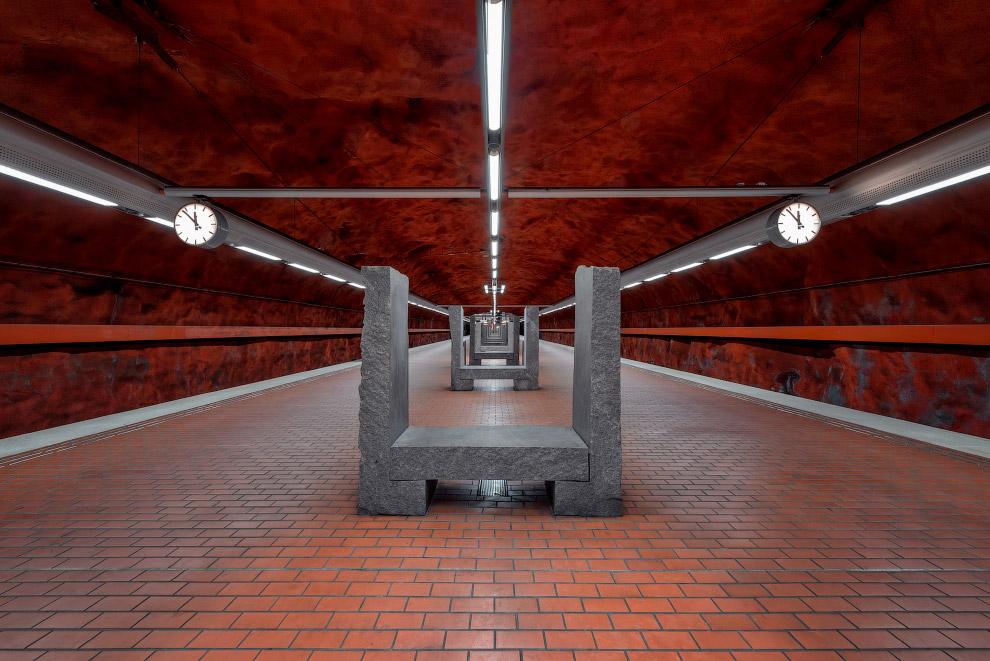 Художественный метрополитен Стокгольма