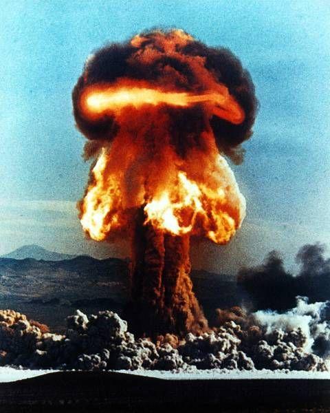 Ядерные взрывы на фотографиях