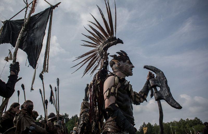 Фанаты Толкиена устроили Битву Пяти Воинств в чешском лесу