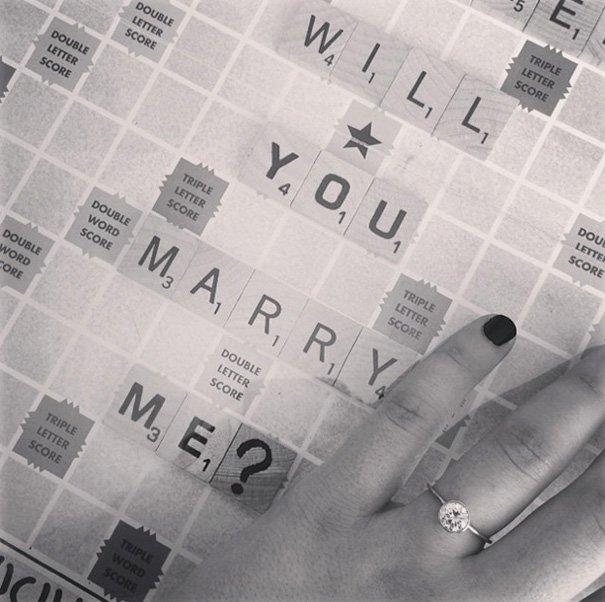 Креативные способы объявить о помолвке