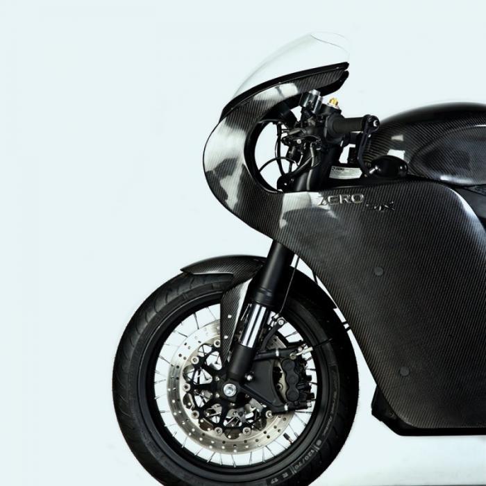 White Collar Bike - электрический кастом Zero SR
