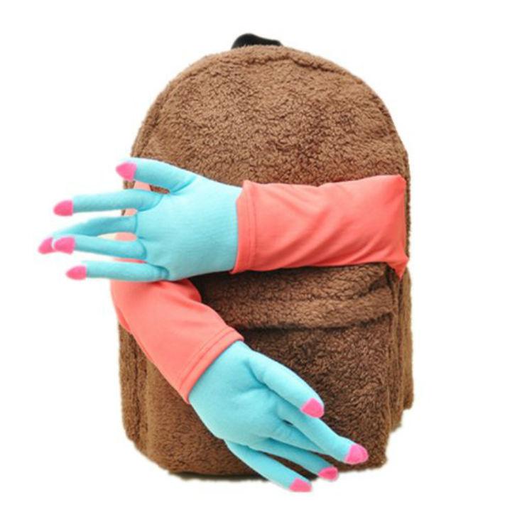 Плюшевый рюкзачок, который обнимет и утешит