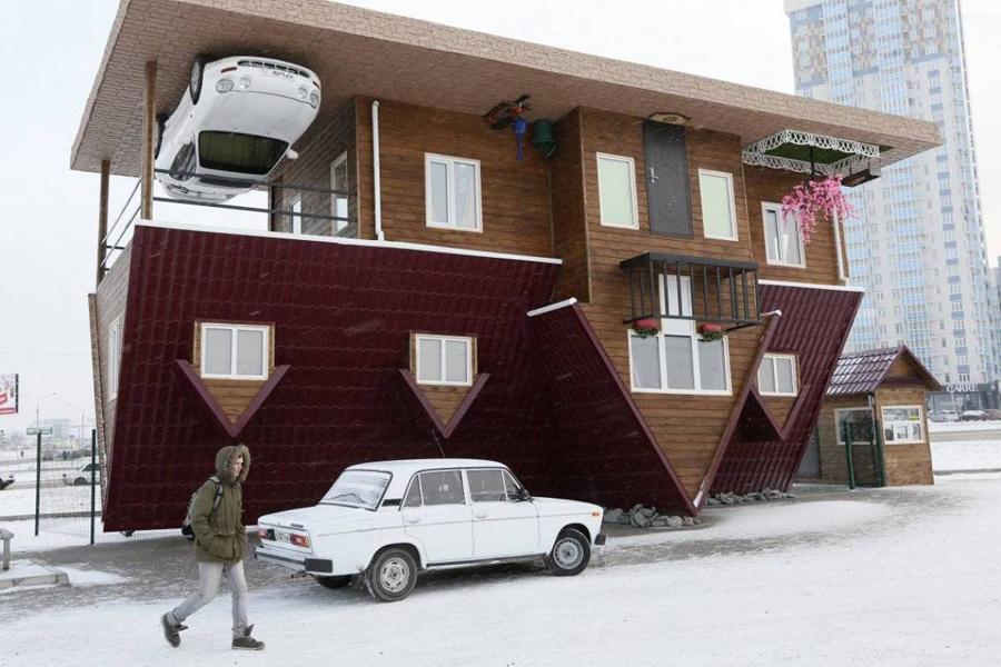 10 странных и необычных домов, в которых живут люди
