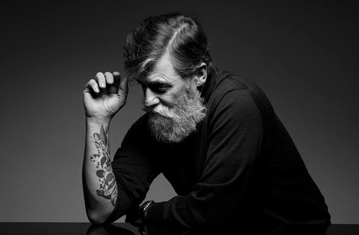 60-летний мужчина стал фотомоделью после того, как отрастил бороду