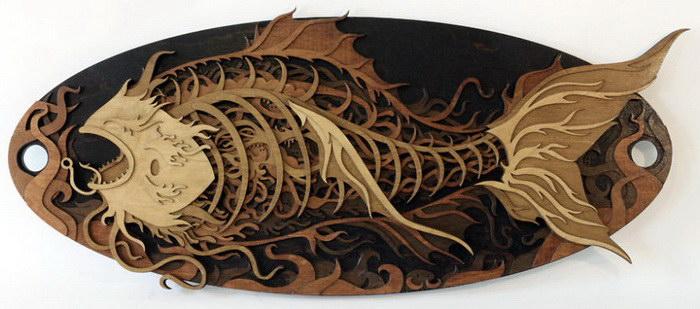Уникальные творения из дерева от Martin Tomsky