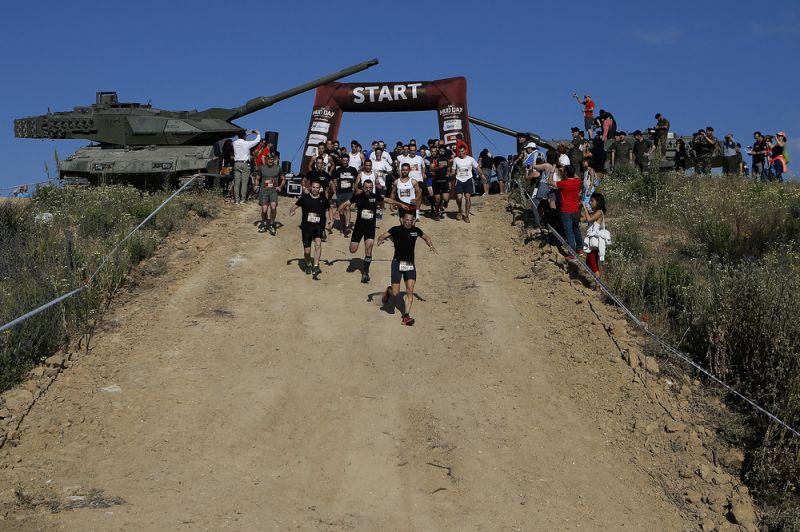 Грязевые гонки в Испании