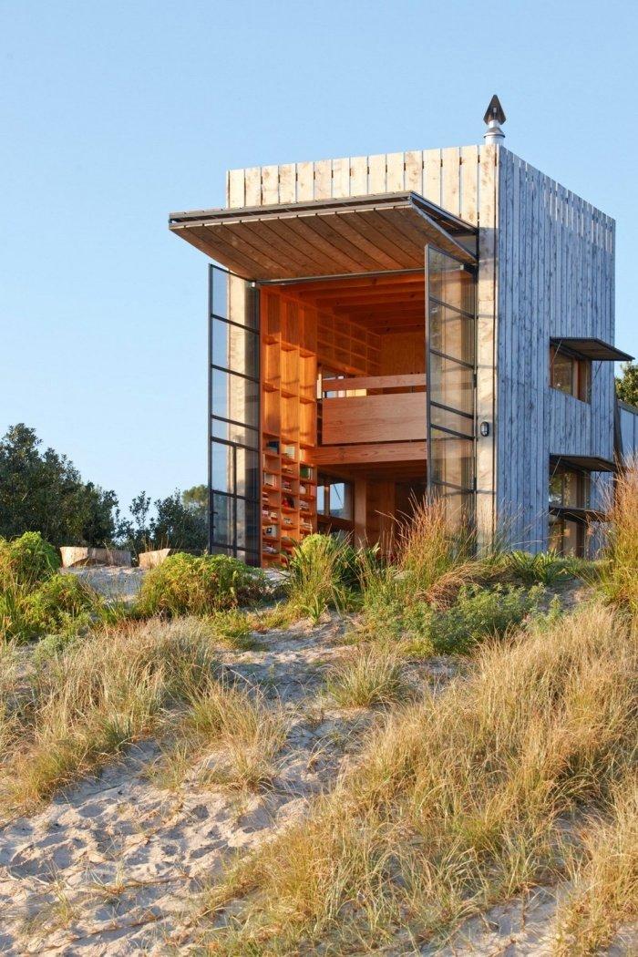 Комфортный дом на побережье в Новой Зеландии