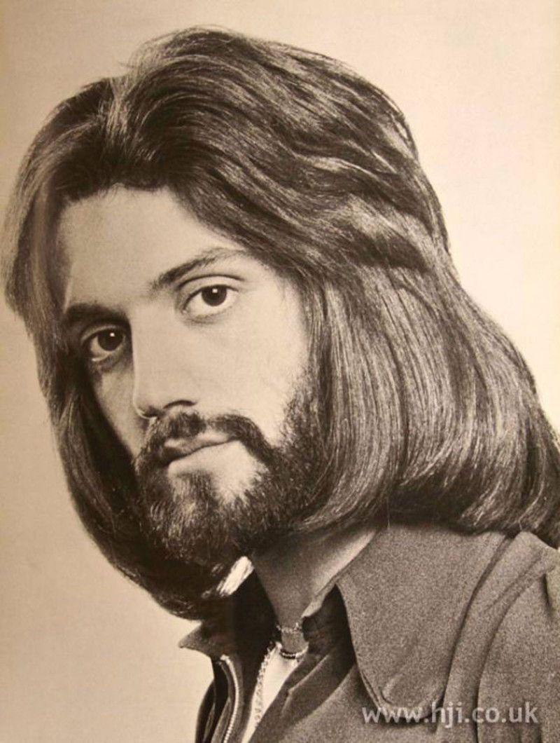 Модные мужские прически 70-х годов прошлого века