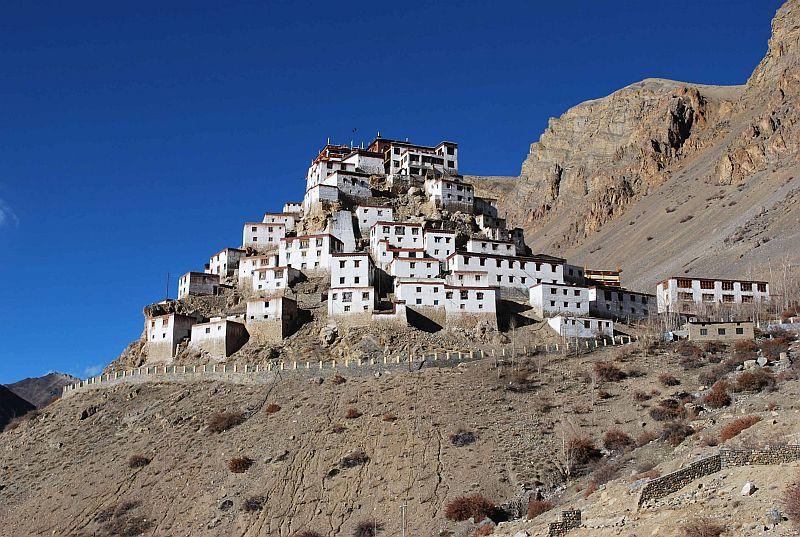 Самый большой тибетский буддийский храм Ки Гомпа