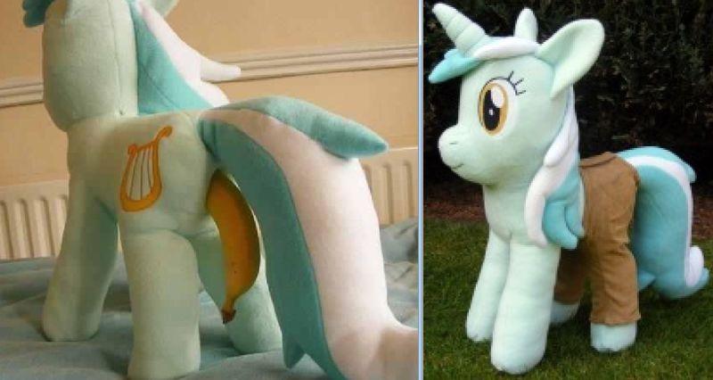 Плюшевые игрушки взрослых фанатов My Little Pony