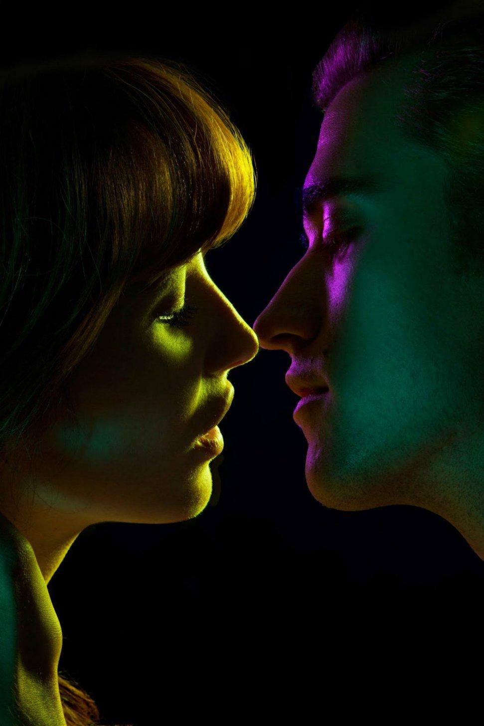 Таинственная красота поцелуя