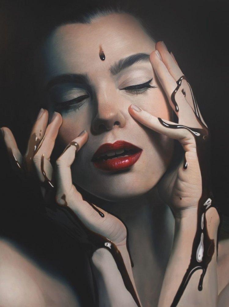 Гиперреалистические картины от Майка Даргаса