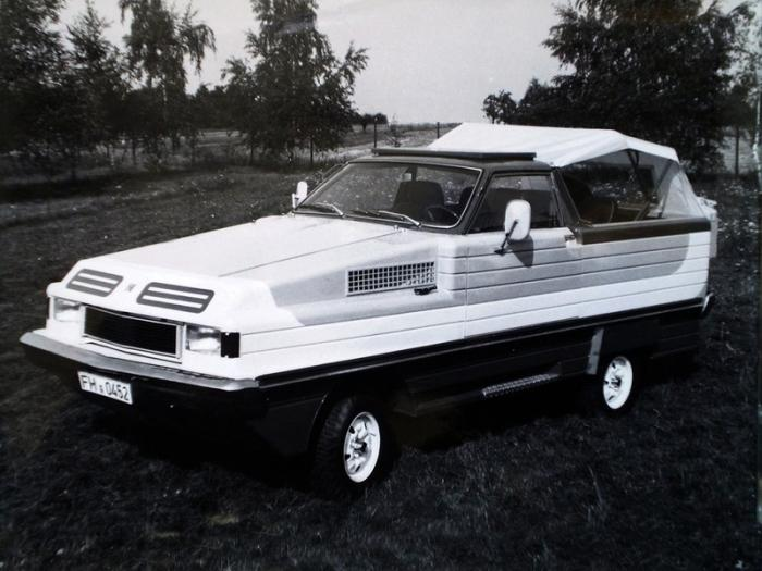 Herzog Conte - прототип автомобиля-амфибии