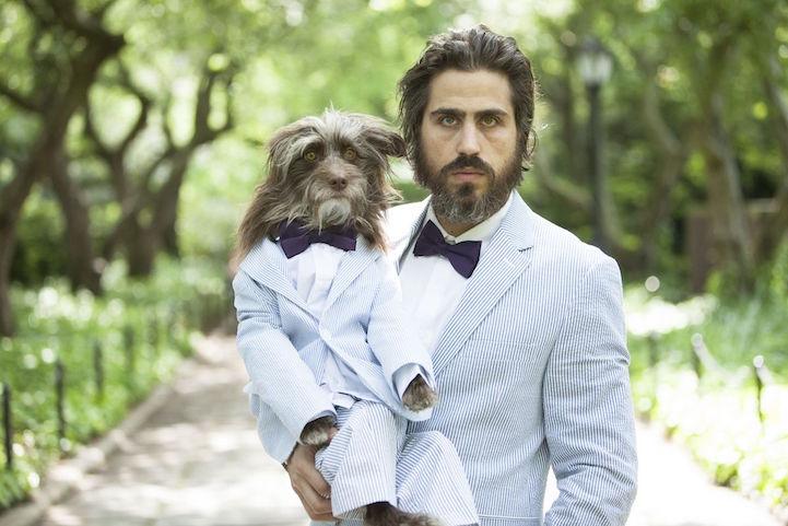 Мужчины, которые любят своих собак, как детей